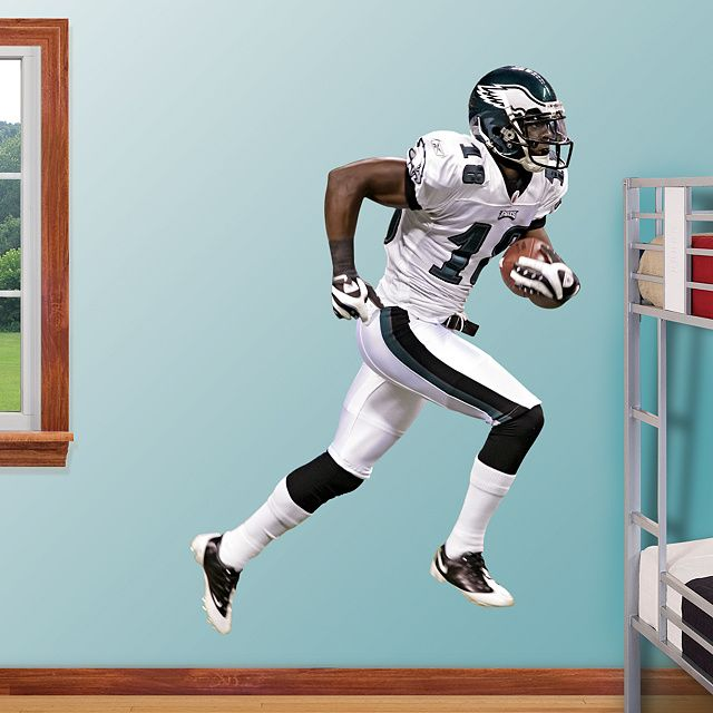 Fathead Wall Graphic | Philadelphia Eagles Wall Decal | Sports Décor | Football Bedroom/Man Cave/Nursery & Jeremy Maclin REAL.BIG. Fathead Wall Graphic | Philadelphia Eagles ...