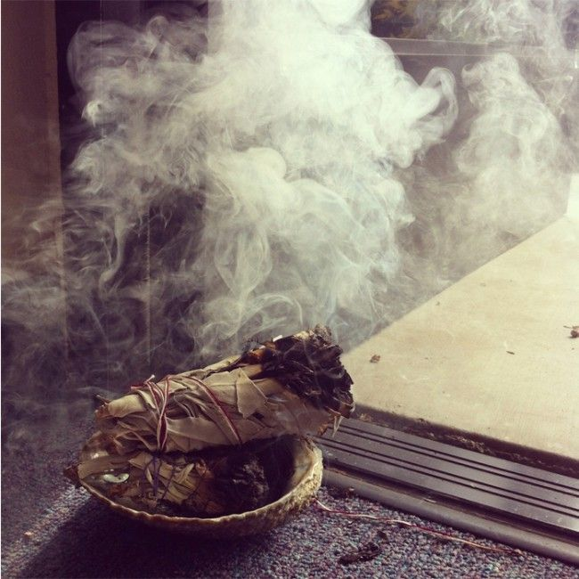Sage Cleansing Set Negative Thoughts And Sage