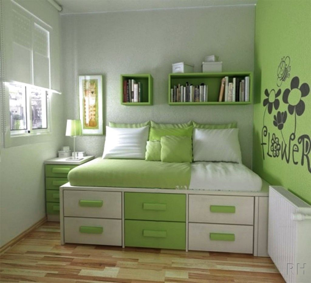 simple bedroom design for small space | Small room bedroom ...