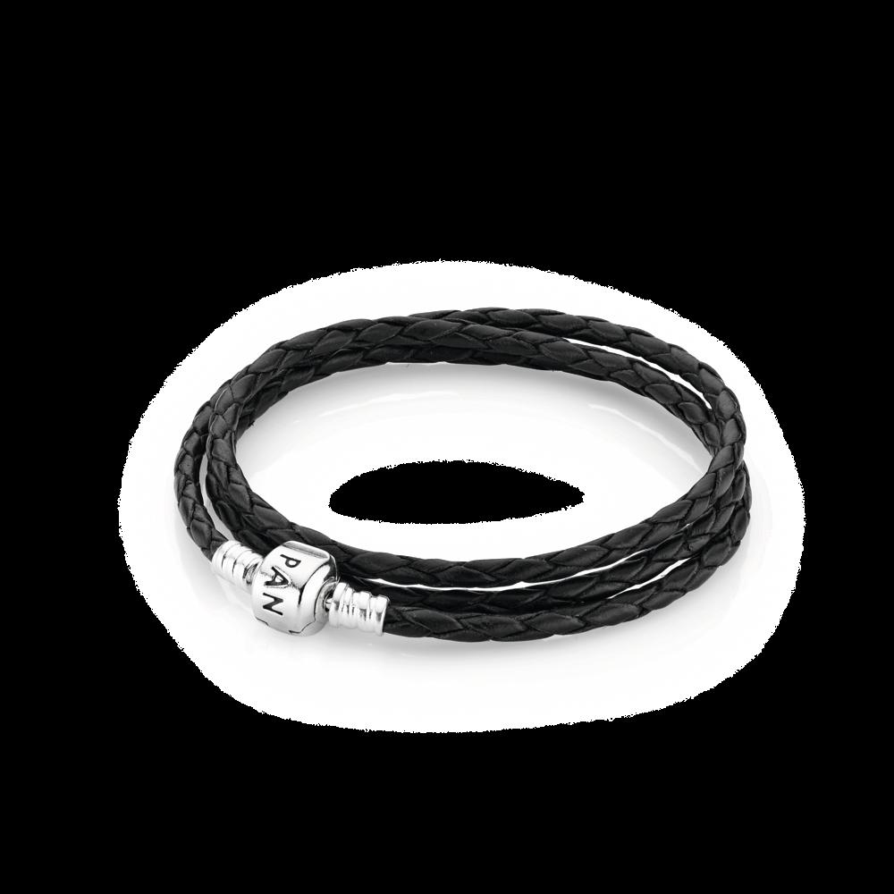 bracelet cuir femme pandora