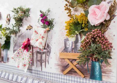ESTILO 40X70 TABLO LİLA #homesweethome #dekorasyon # ...