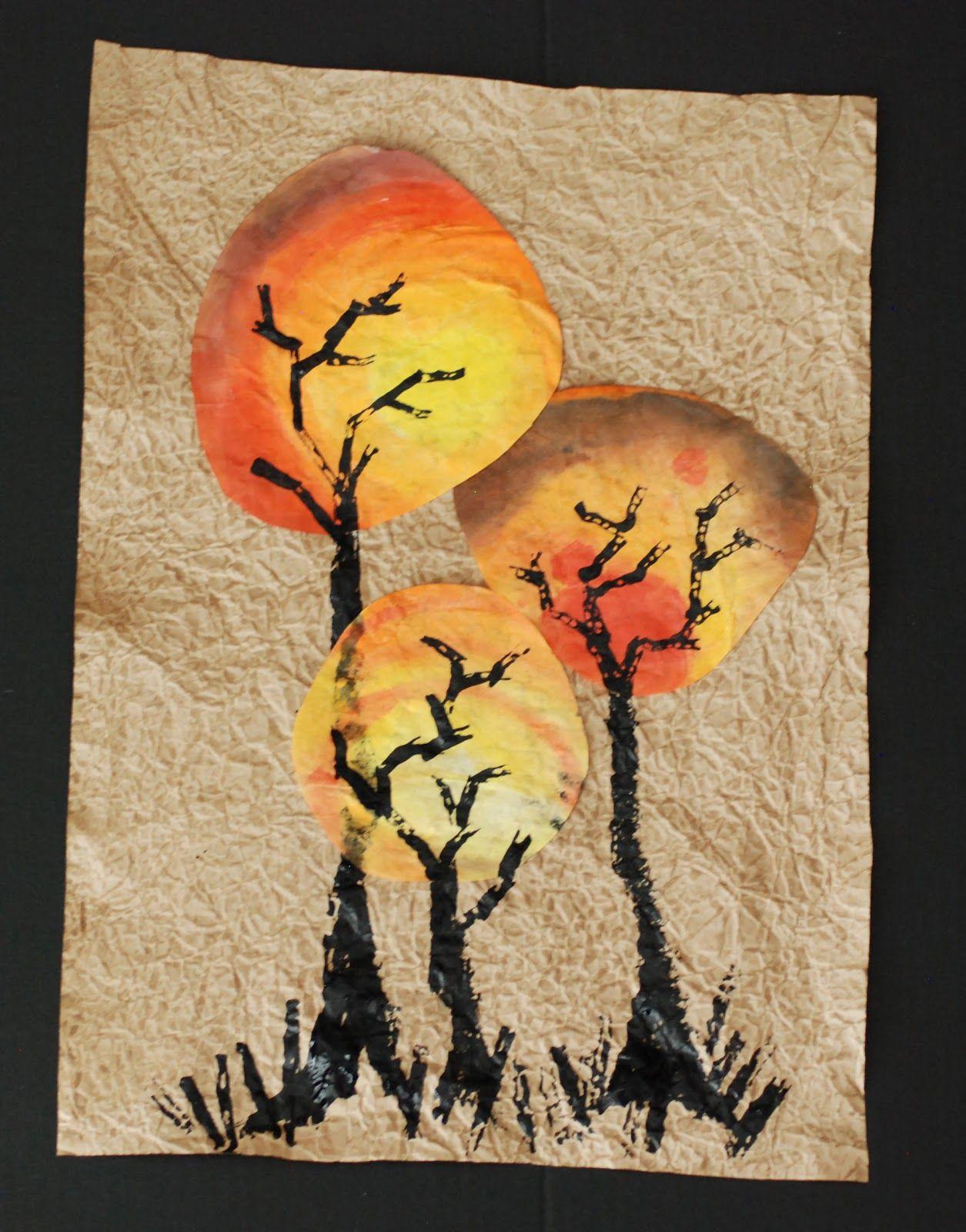 Syksyiset puut + muita ideoita