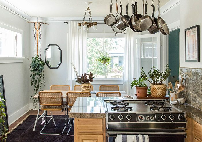A Relaxed Bungalow in Portland, Oregon Home kitchens