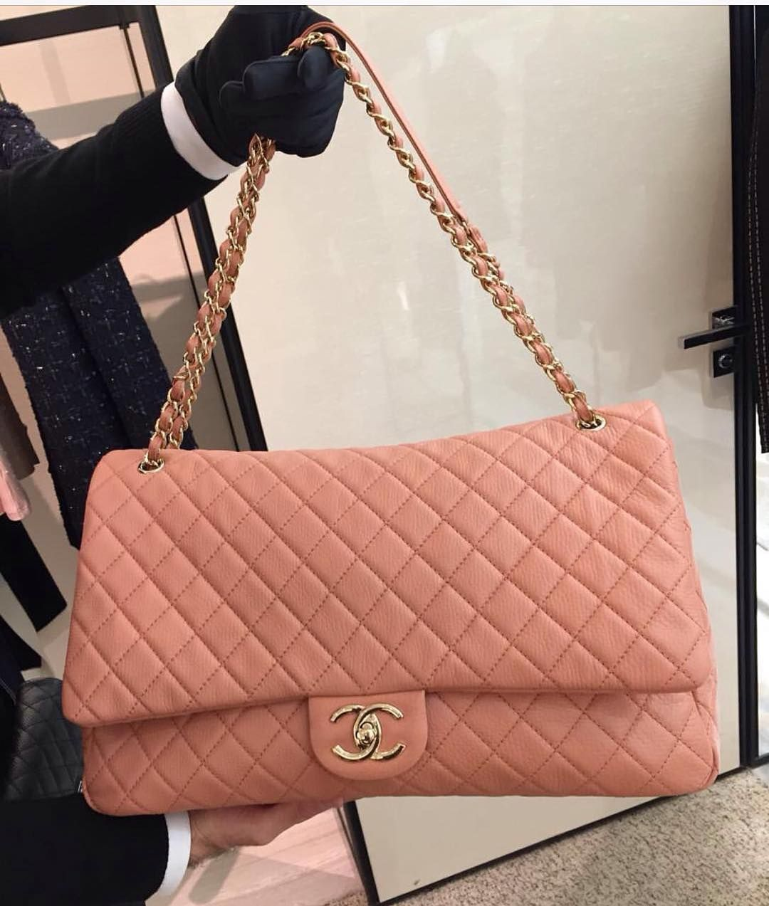 chanelxlflapbag Chanel Pinterest Bag