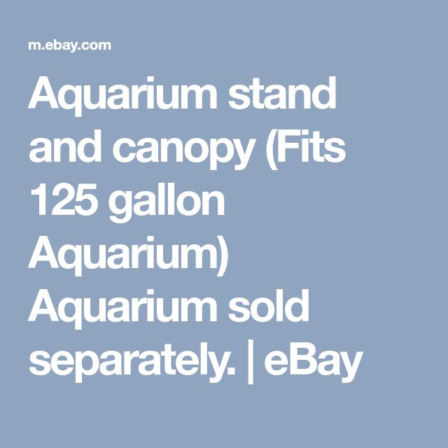 Aquarium stand and canopy (Fits 125 gallon Aquarium) Aquarium sold separately  sc 1 st  Pinterest & Aquarium stand and canopy (Fits 125 gallon Aquarium) Aquarium sold ...