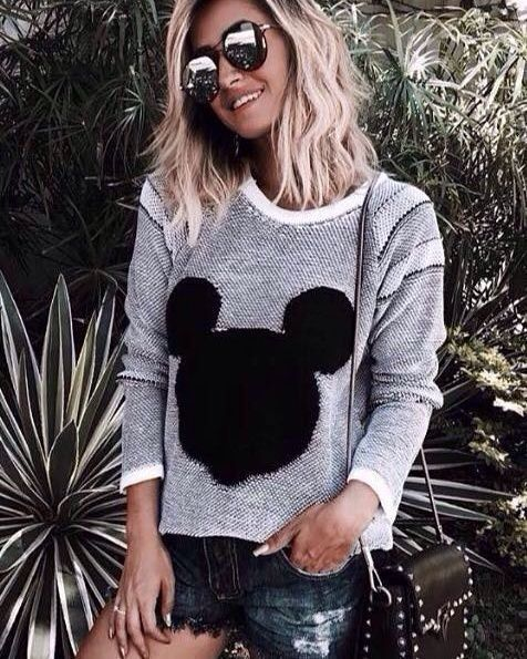 caf8d5ade Blusa Tricot Mickey - Luttiê - Loja Online Multimarcas.