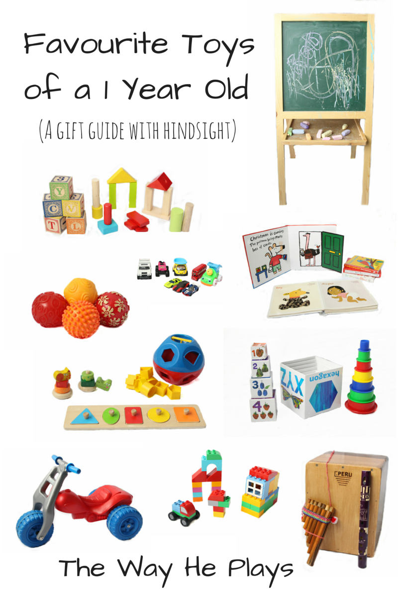 Favourite Toys of a 1 Year Old - A gift guide with ...