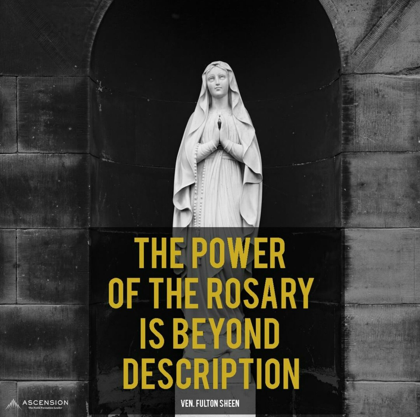 The Power of The Rosary Fulton sheen, Movie posters