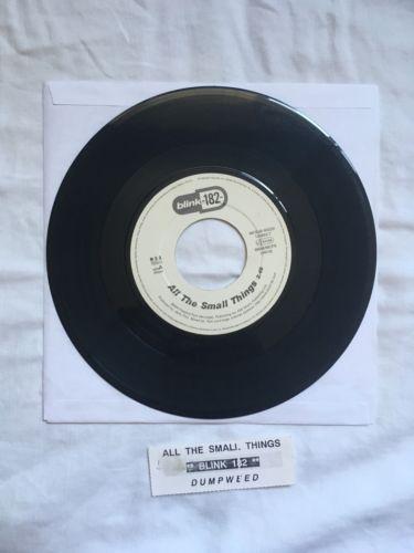 "Blink-182 Rare All The Small Things/ Dumpweed 7"" Jukebox Promo Vinyl https://t.co/lfpR1L3ZTC https://t.co/TufdZQFdTU"
