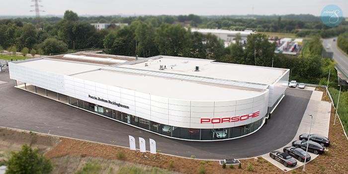 Das Neue Porsche Zentrum Recklinghausen Porsche Neue Wege