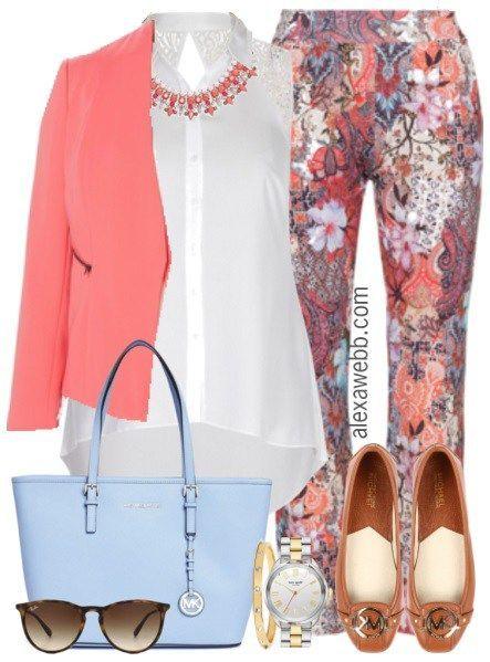 3a5ac18f05931 Plus Size Work Outfit - Plus Size Fashion for Women - Plus Size Work Outfit   alexawebb  plus  size