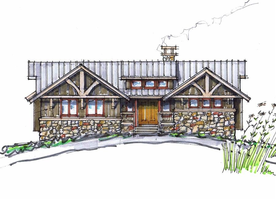 Cup Cake Front Elevation Natural Element Homes Perfectadd