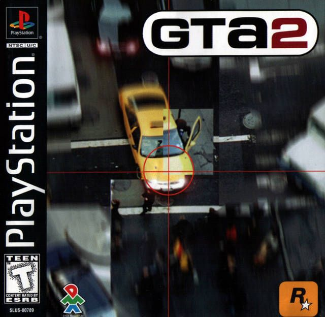 Grand Theft Auto 2 Box Shot For Playstation Gamefaqs With