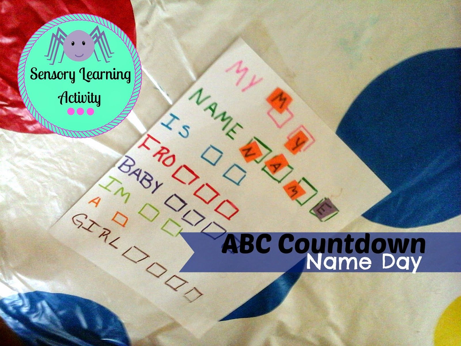 Tiny Tots Adventures An easy name learning game