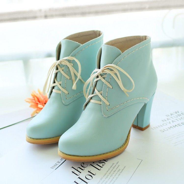 Awe Revoir Heel | Pastel, Blue fashion and Heels