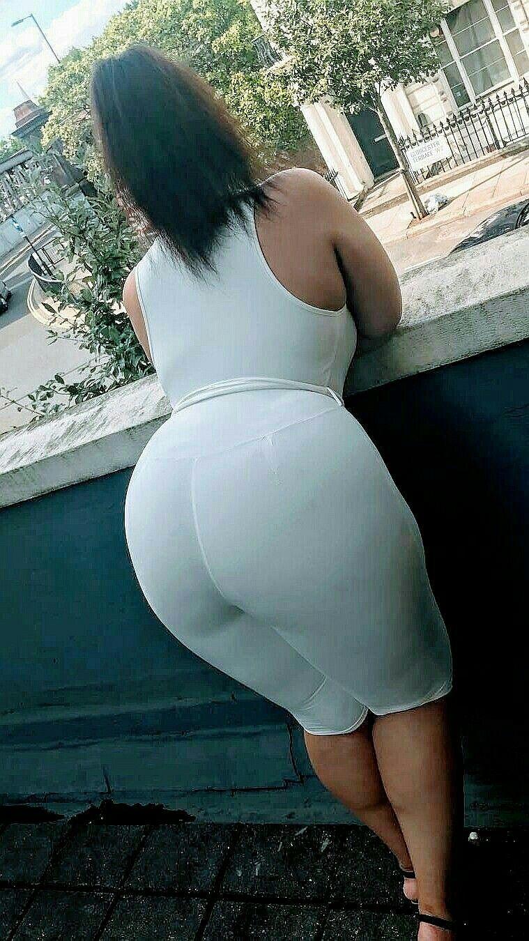 Big ol white ass