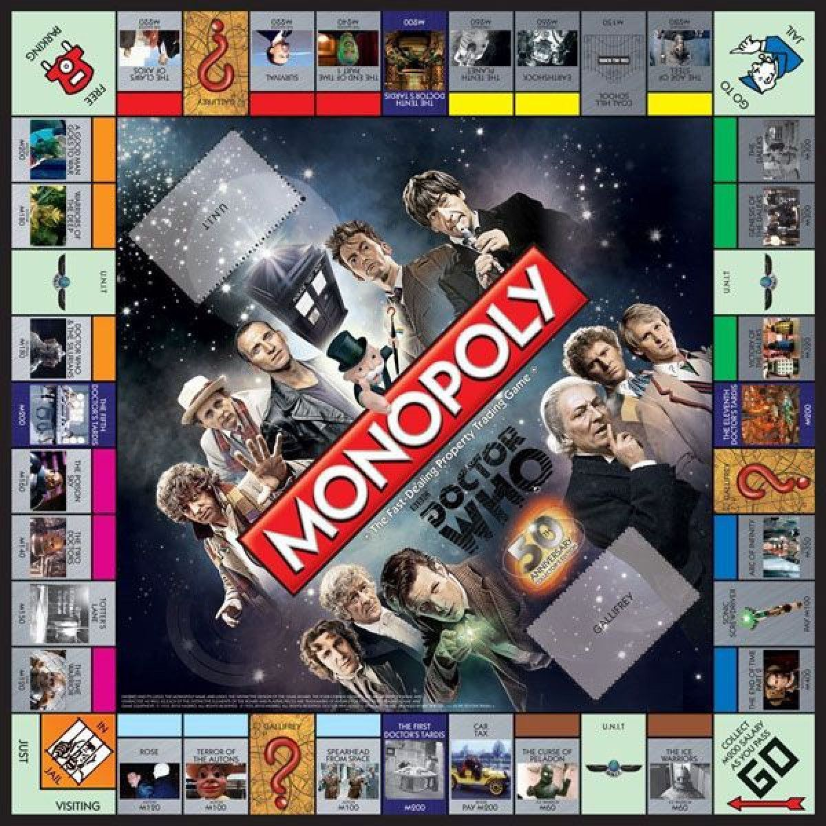 Doctor Who: Monopoly Game | BBC Shop | Doctor Who ...