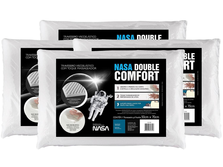 Magazine Luiza Kit 4 Travesseiros com Espuma Viscoelástica ...