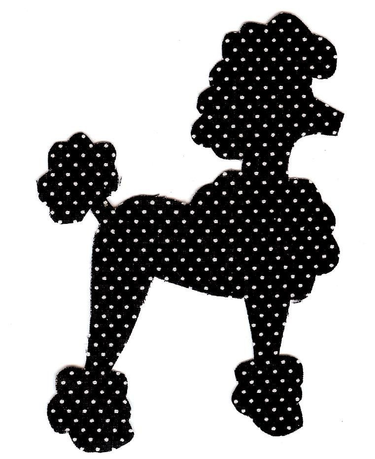 Poodle skirt lrstitched lindsey rhodes projects to for Poodle skirt applique template