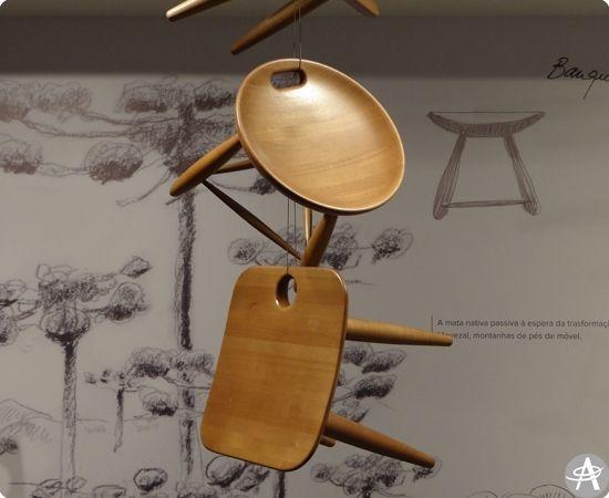 Mostra traça panorama da obra de Sérgio Rodrigues