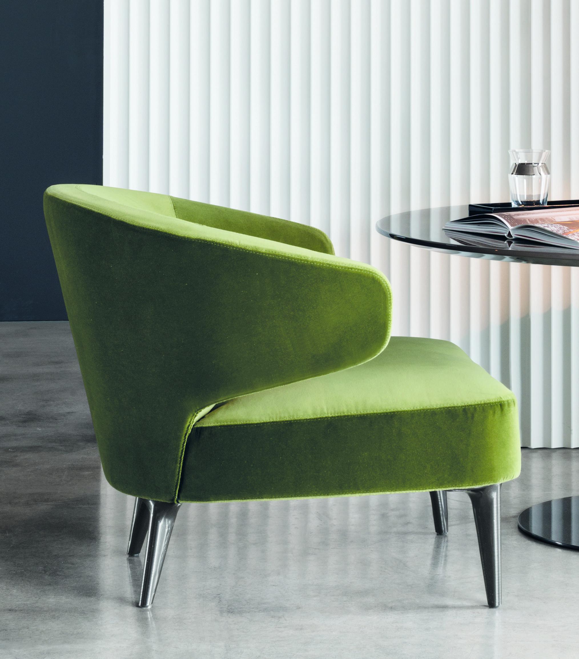 Sessel aston von minotti furniture for Sofa industriedesign
