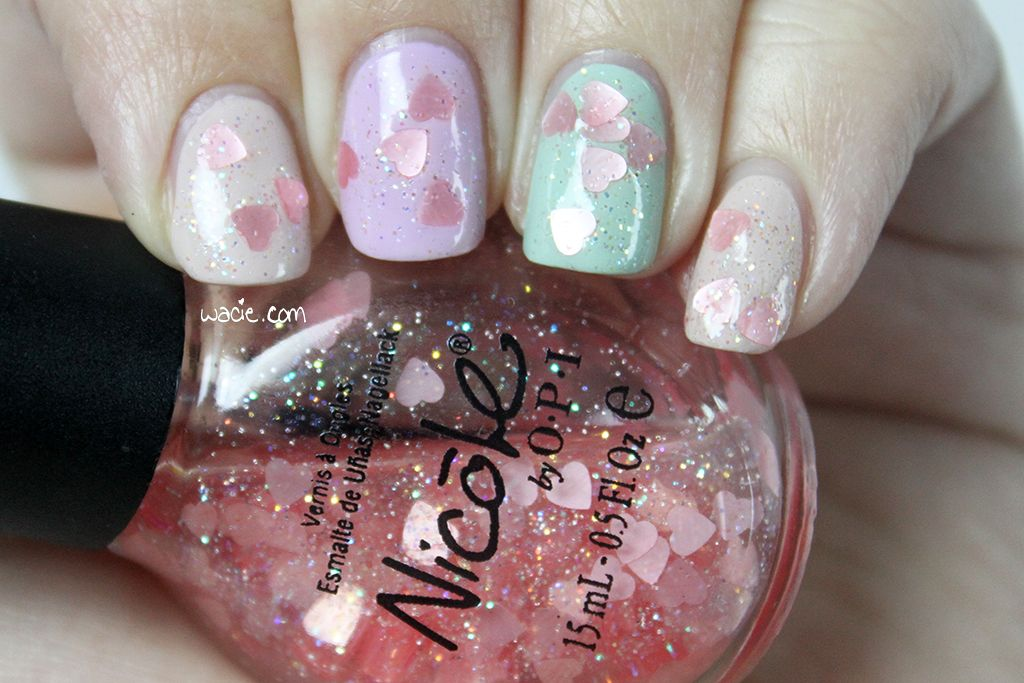 Swatch of Nicole by OPI\'s Love Your Life | Swatched -- wacie.com ...