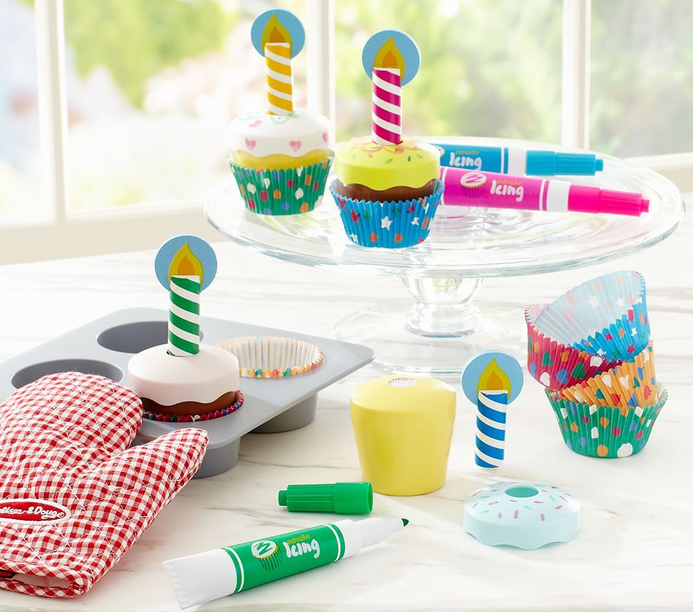 Bake u decorate cupcake set pottery barn kids home decor