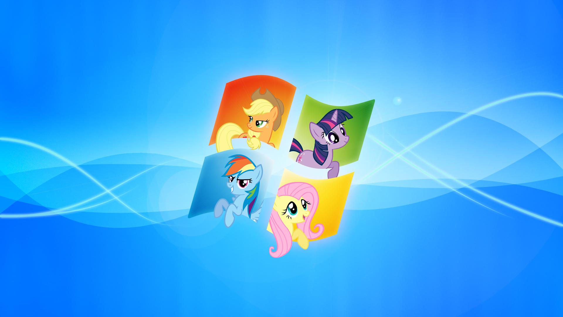 Windows My Little Pony Wallpaper By Piranhaplant1 On Deviantart