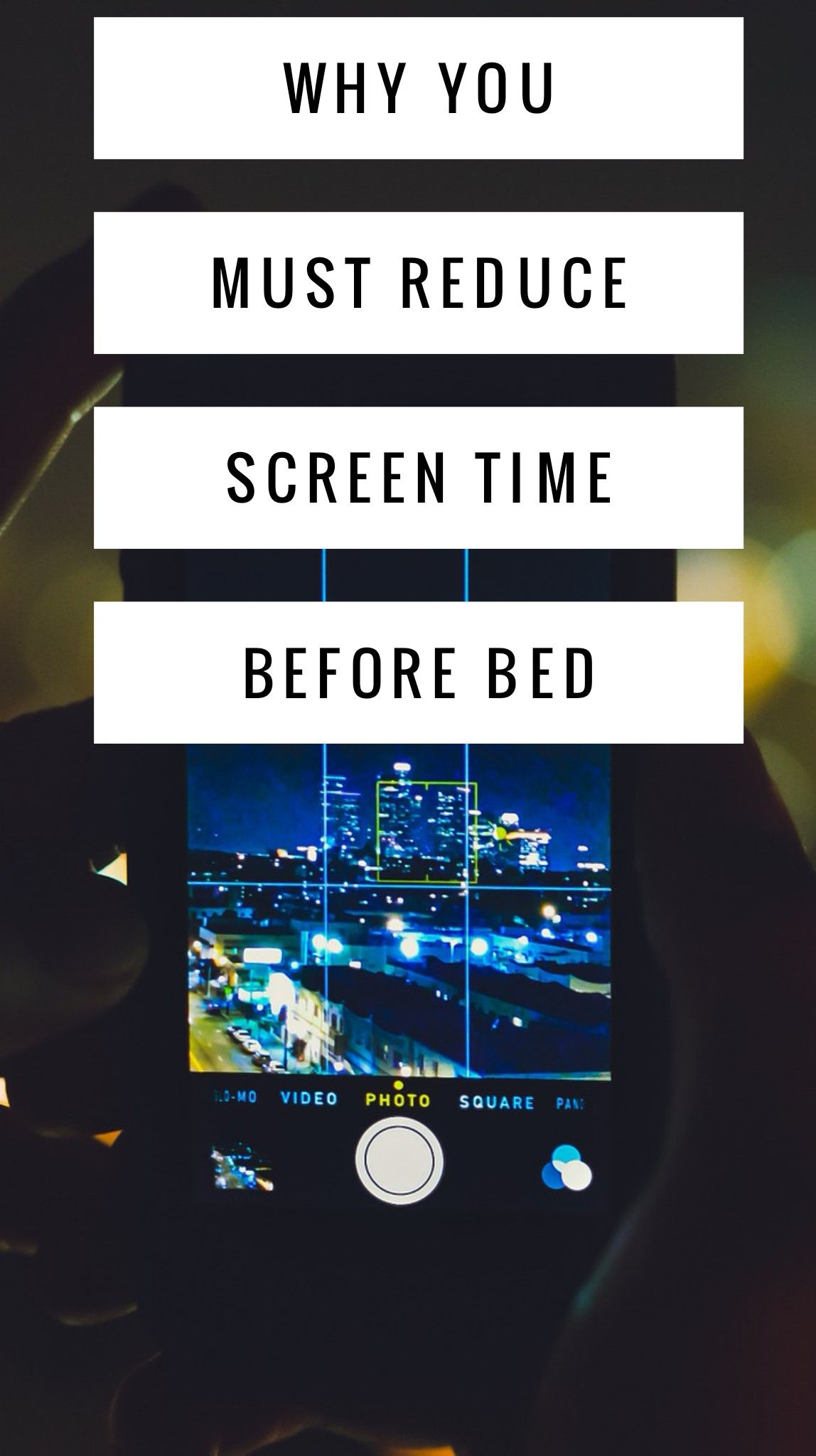 Why Screen Time Before Bed Wrecks Your Sleep (And 4 Ways
