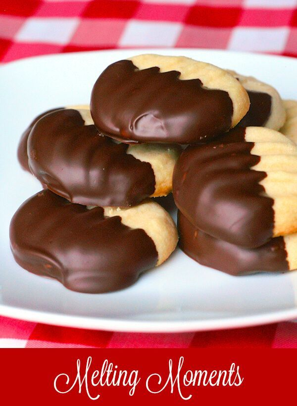 These Melting Moments truly are the lightest, most delicious, melt in your mouth, shortbread cookies that I've ever tried. Wonderful dipped in chocolate  & freeze well too.