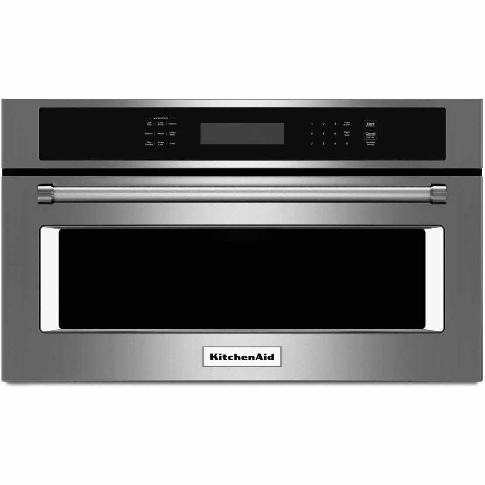 Lowes microwaves over the range white - Shop Kitchenaid Ft Built In Convection Microwave Sensor Cooking Controls Stainless Steel At Lowe S Canada Find Our Selection Of Microwaves At The Lowest