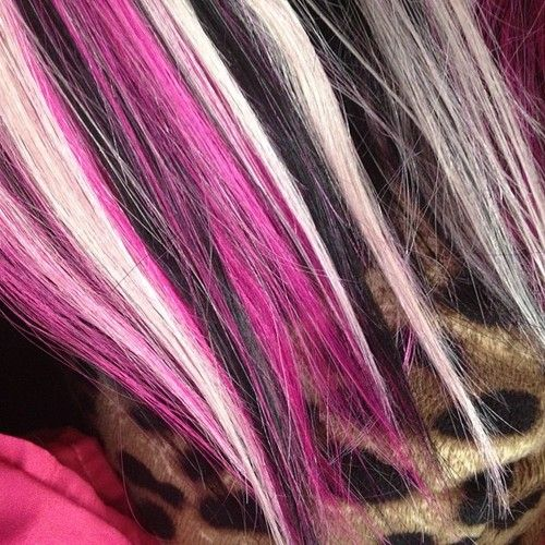 Pink black and blonde hair google search hair stuff pink black and blonde hair google search pmusecretfo Choice Image