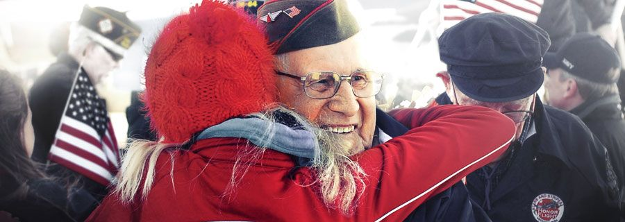 Honor Flights recognize service of WWII Vets. Want to