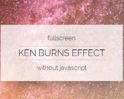 pure-css-background-slideshow-ken-burns-effect jquery plugin - best of blueprint background slideshow