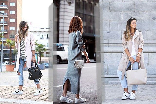 shopping outfit con le adidas superstar e2a81 5beff