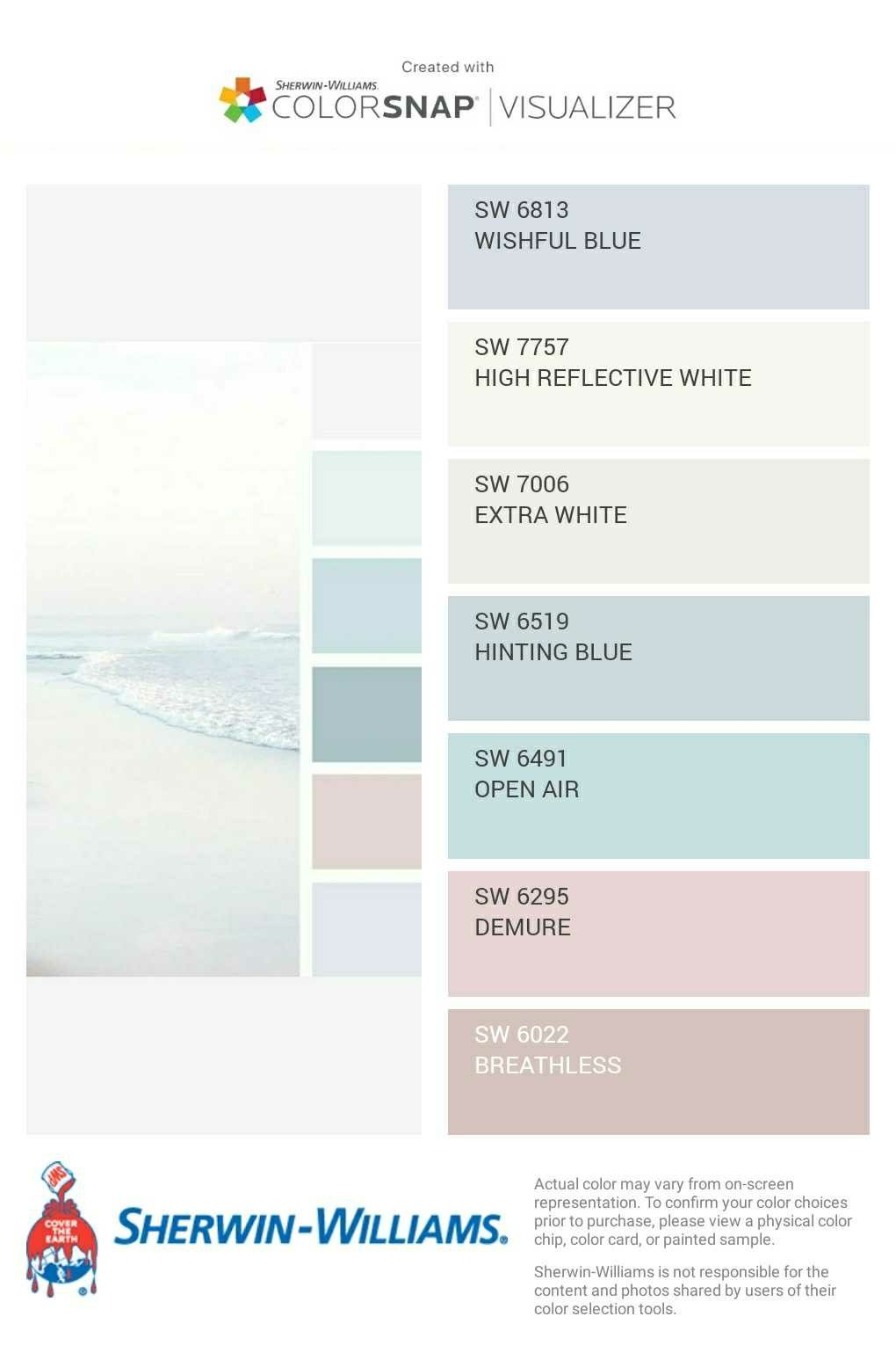 Beach Shades Shabby Chic Colors Shabby Chic Paint Colours