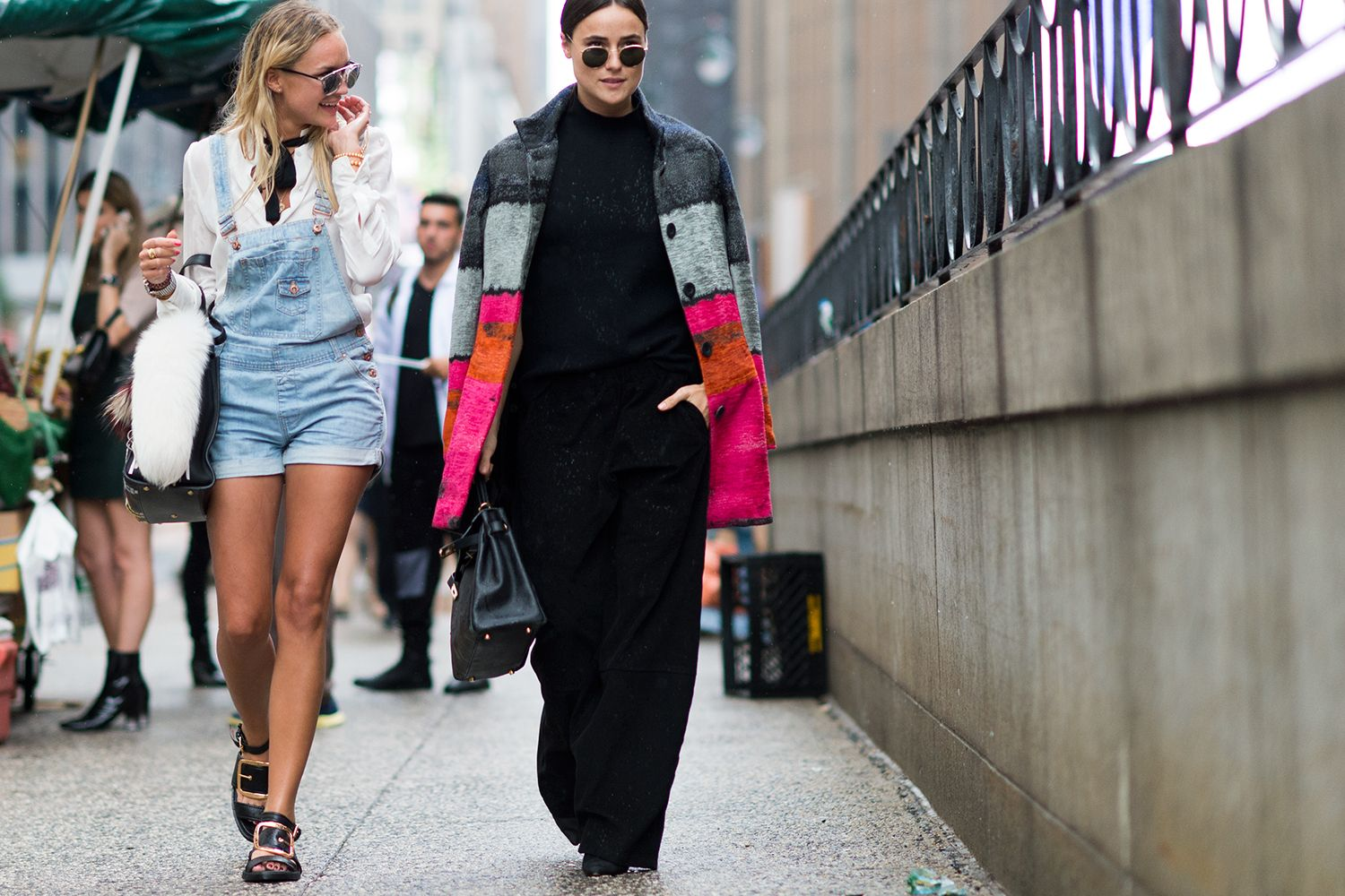 The Best Street Style At New York Fashion Week Street Style Pinterest