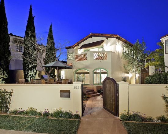 Stucco Fence Design Pictures Remodel Decor And Ideas