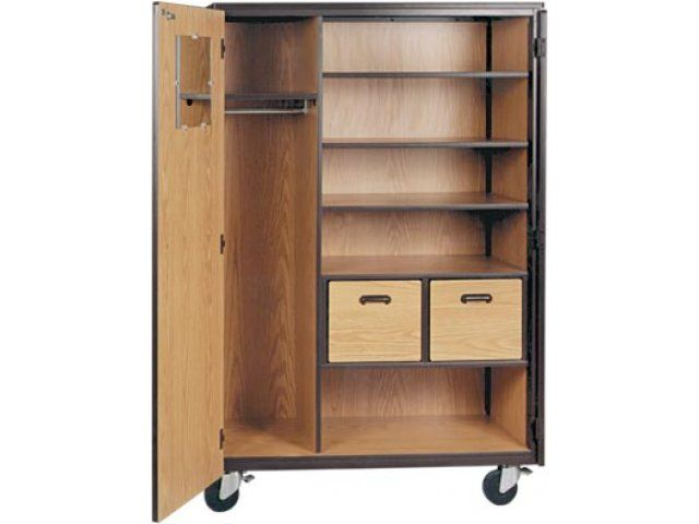 Portable Wardrobe On Wheels Storage Cabinet Closet Cabinets Tall