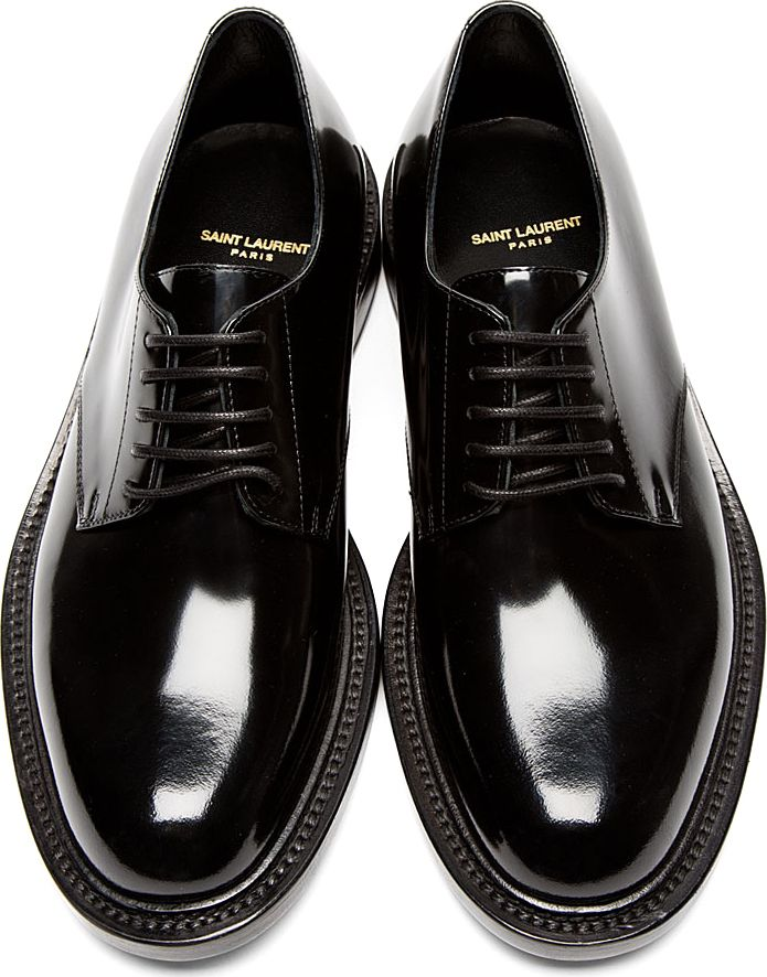 Saint Laurent Black Patent Leather
