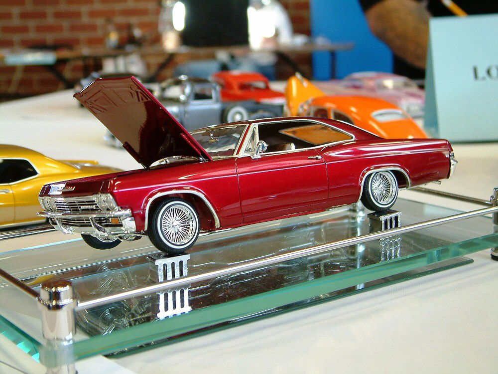 65 impala plastic and diecast lowrider model cars and. Black Bedroom Furniture Sets. Home Design Ideas