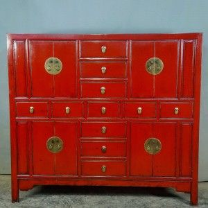 Armoire Chinoise Ancienne Meuble Chinois Ancien Armoire Chinoise Ancienne 168cm Laquee Rouge Meuble Chinois Mobilier De Salon Armoire Chinoise