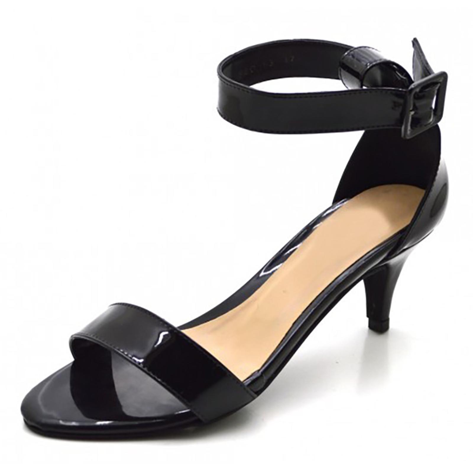Sandália Salto Laço Alto Preta