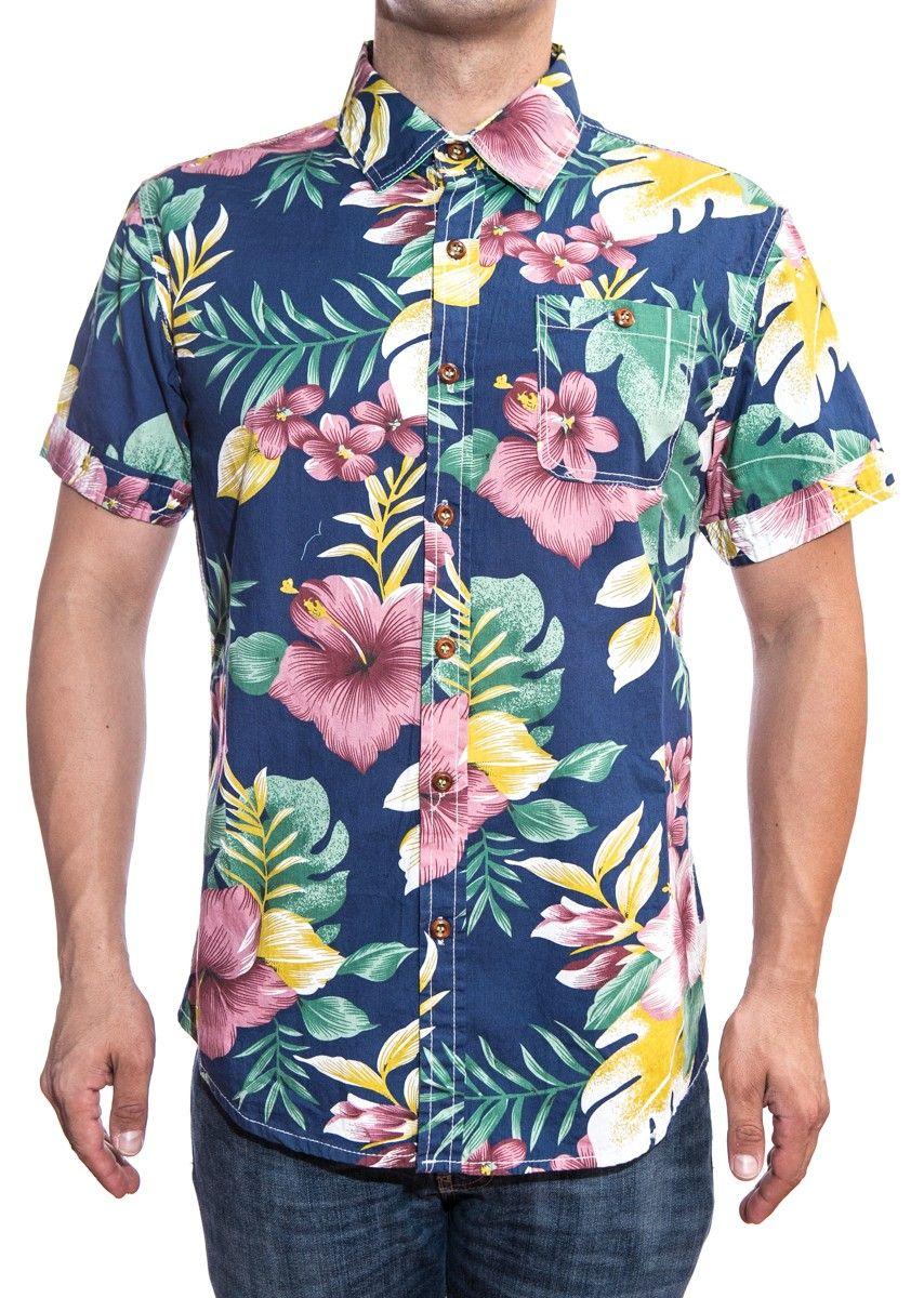 Camisa De Flores Hombre Floral Shorts Mens Cool Shirts Menswear