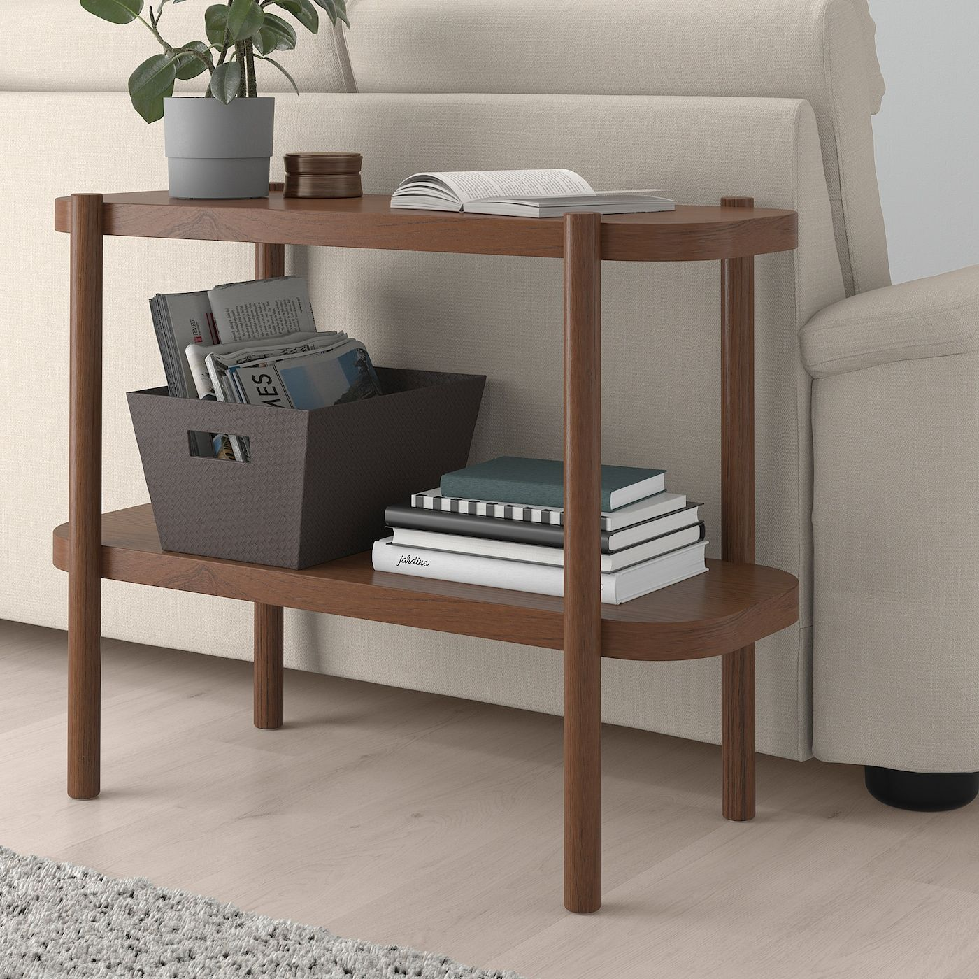Listerby Console Table Brown 36 1 4x15x28 Ikea Console Table Bed Frame With Storage Solid Oak Table [ 1400 x 1400 Pixel ]