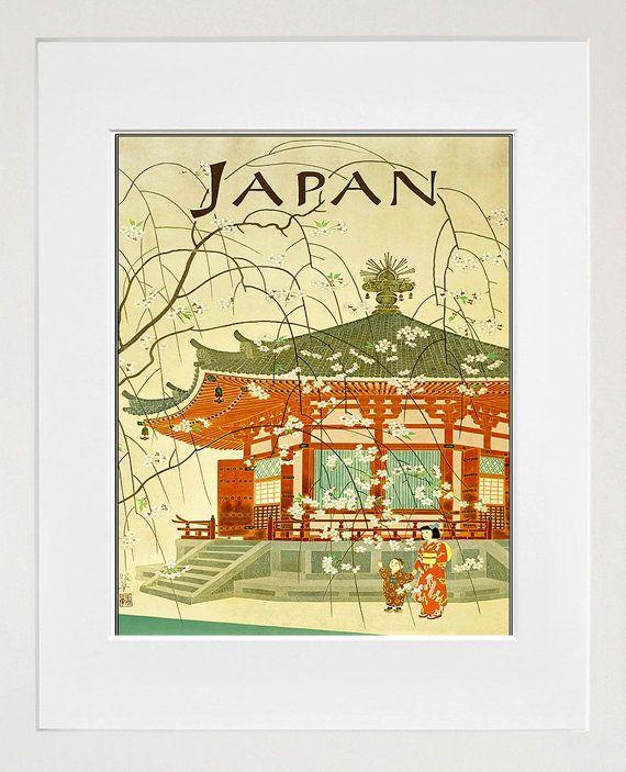 Japanese Wall Art Japan Print Travel Poster Home Decor (ZT671 ...