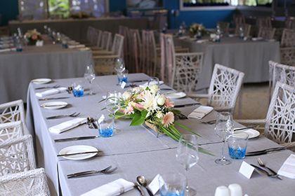 Mariage Ile Maurice Décoration de table