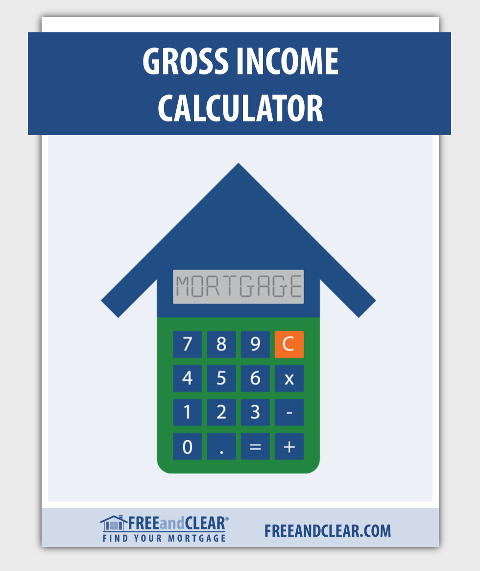 Monthly Gross Income Calculator  Mortgage Calculators