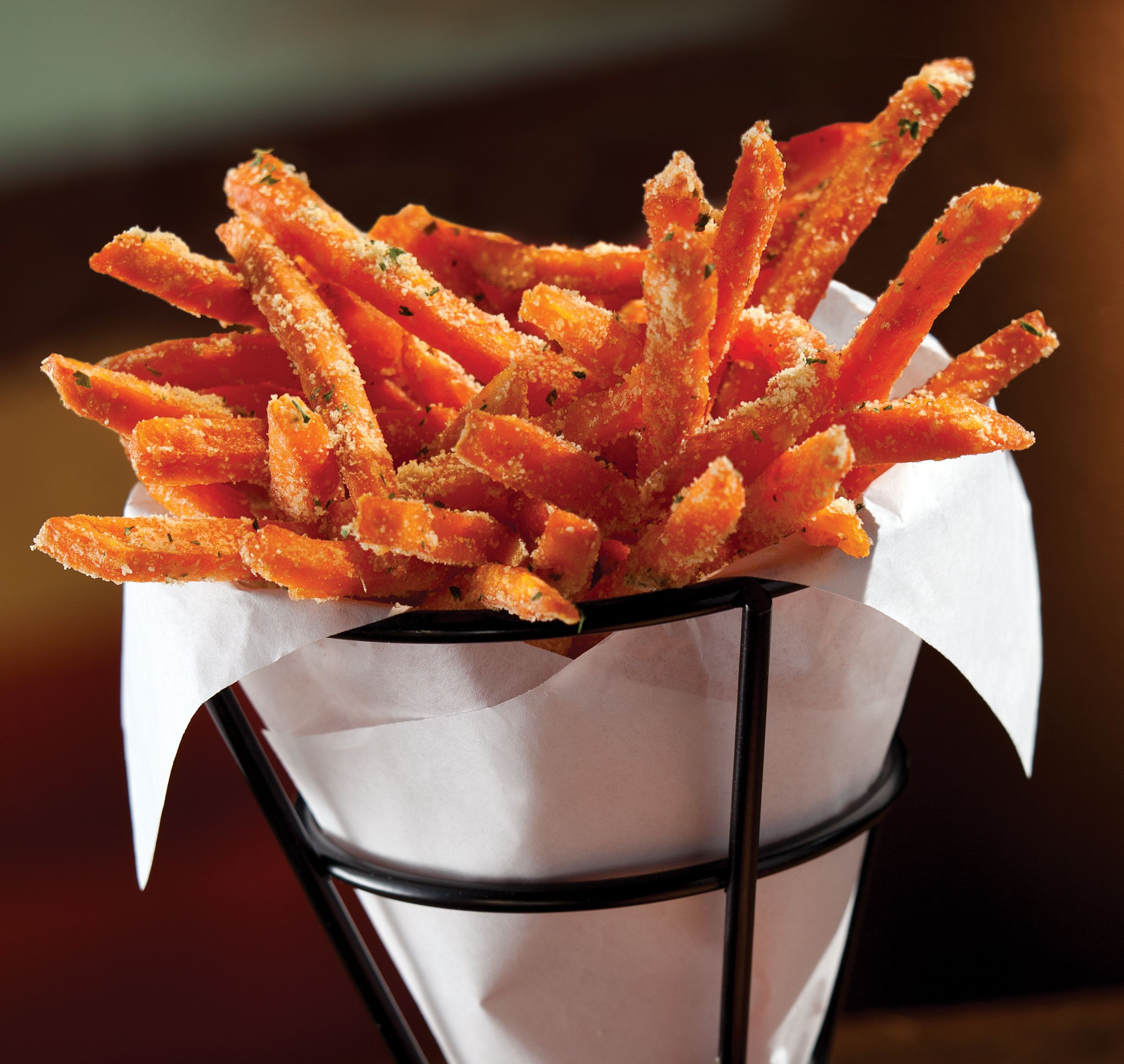 sweet potato parmesan fries crispy sweet potato fries tossed with