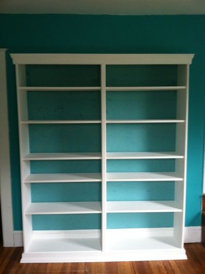Ikea Billy Bookcase Hack Molding And Trim